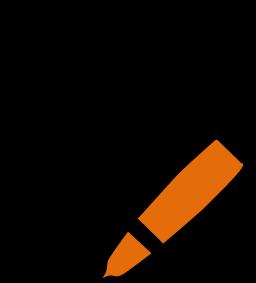 Blocnote orange
