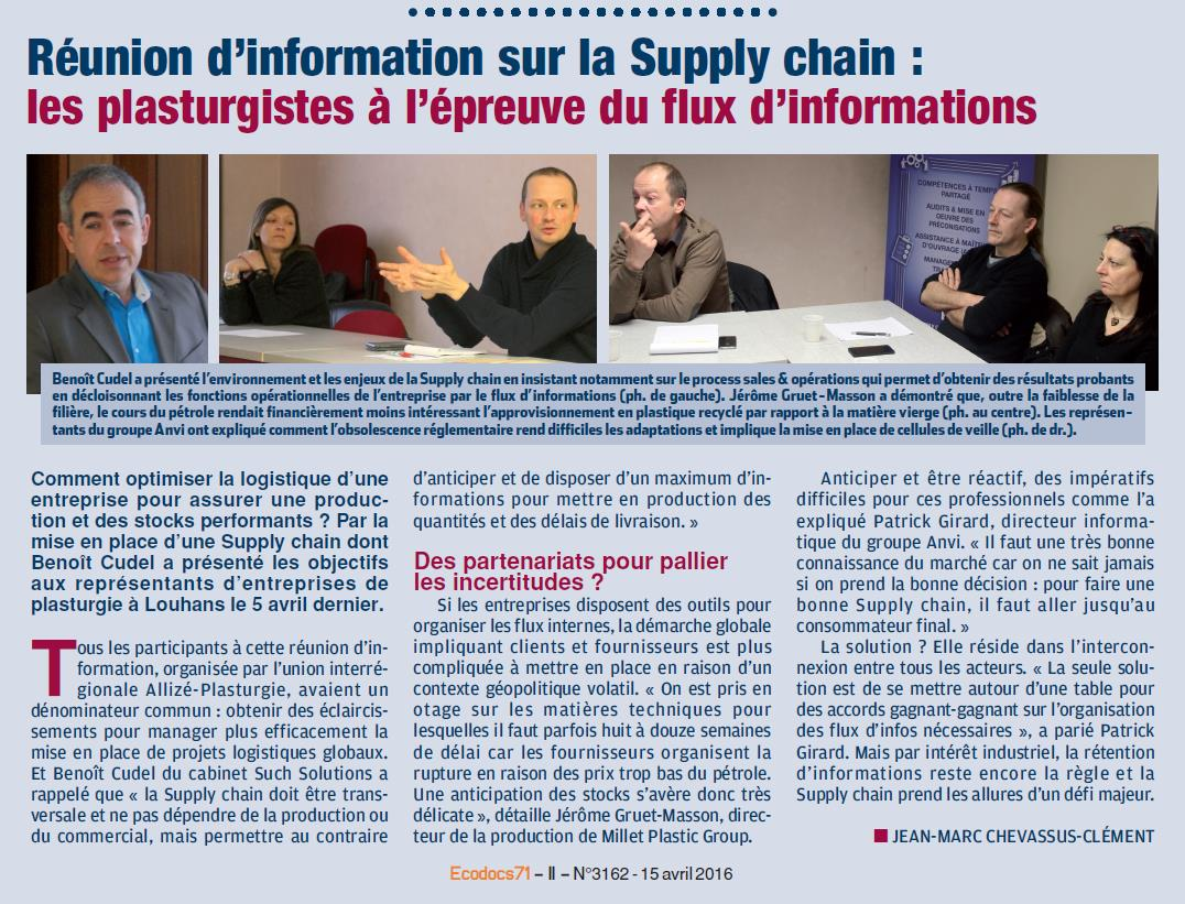 Article ECODOCS du 15 Avril 2016