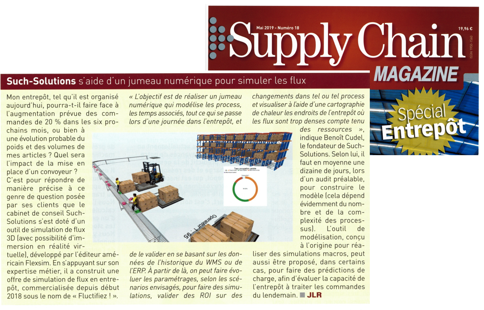 Article Supply Chain MAGAZINE - Mai 2019